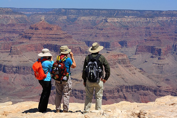 Grand Canyon hiking - Tips For Travel Photography