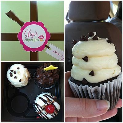 Gigi's Cupcakes | www.chocolatemoosey.com