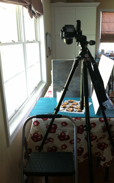 Setting up tripod