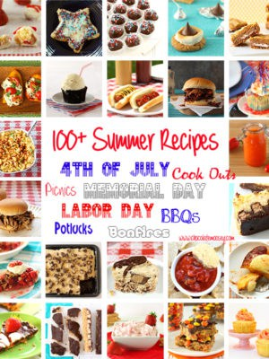 100+ Summer Recipe Round Up