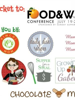 Food and Wine Conference 2013 Ticket Giveaway