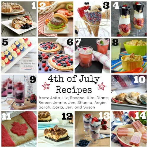 4th Of July Recipes | www.chocolatemoosey.com