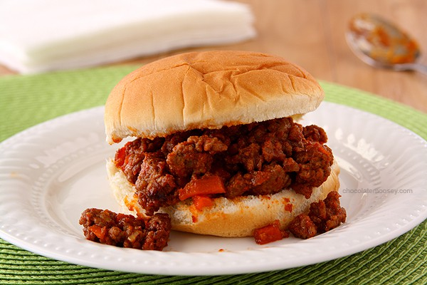 Homemade Sloppy Joe Sandwiches | www.chocolatemoosey.com