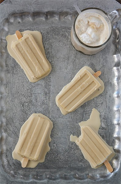 Root Beer Float Ice Cream Bars | www.chocolatemoosey.com