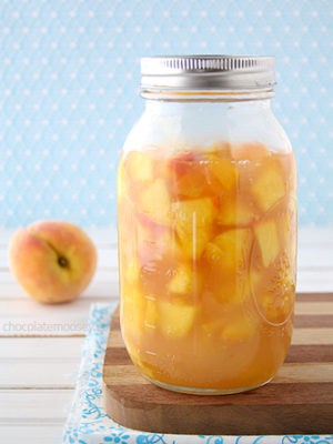 Homemade Peach Pie Filling