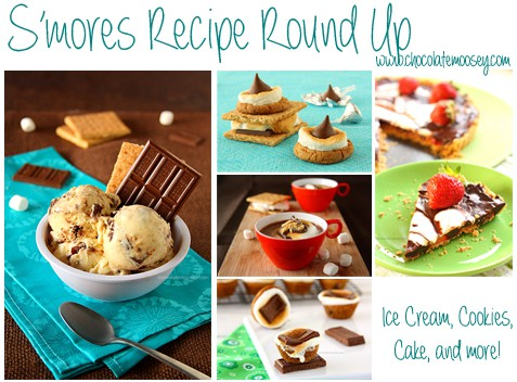Smores Recipe Round Up | www.chocolatemoosey.com