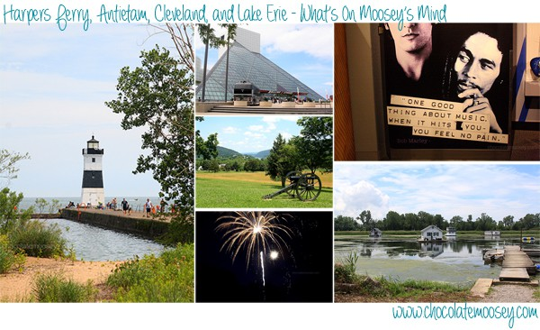Harpers Ferry, Antietam, Cleveland, and Lake Erie | www.chocolatemoosey.com