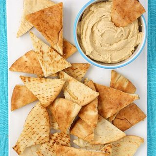 Small Batch Homemade Pita Chips