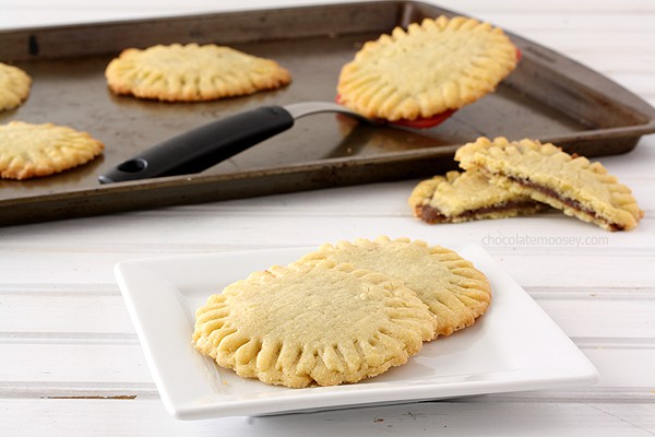 Nutella Dream Pocket Cookies | www.chocolatemoosey.com