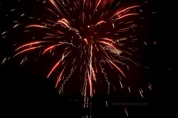 Fireworks | www.chocolatemoosey.com