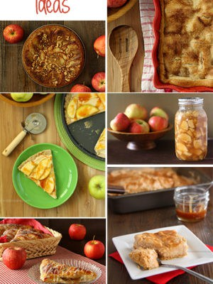 Apple Recipe Ideas from www.chocolatemoosey.com
