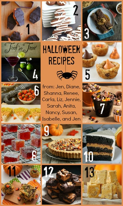 Halloween Party Recipe Ideas | www.chocolatemoosey.com