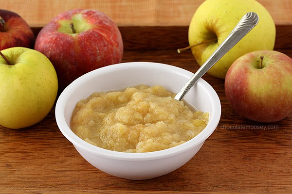 Small Batch Homemade Applesauce