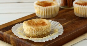 Snickerdoodle Cheesecake Cupcakes