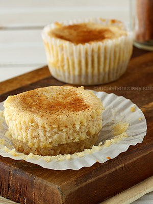 Mini Snickerdoodle Cheesecakes (Small Batch)