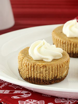 Gingerbread Cheesecake Cupcakes