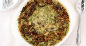 Green Bean Casserole (Without Canned Soup) | www.chocolatemoosey.com