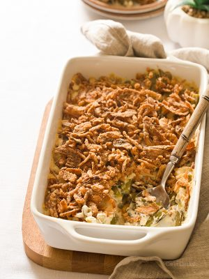 Green Bean Casserole Without Mushroom Soup