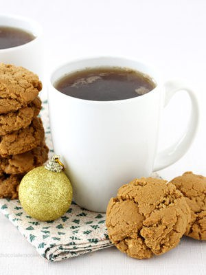 Peanut Butter Molasses Cookies (Small Batch)