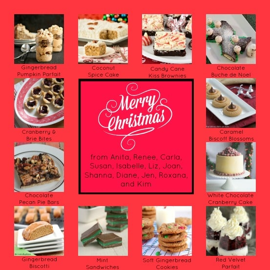 Christmas Food Party on Chocolate Moosey