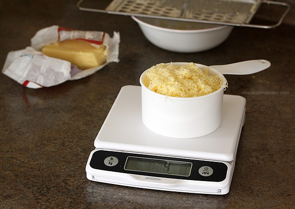 Weighing Kerrygold Irish Cheese