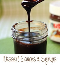 Dessert Sauces and Syrups