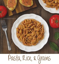 Pasta, Rice, and Grains