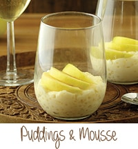 Puddings and Mousse