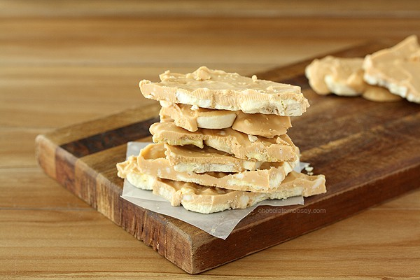 Peanut Butter Banana Elvis Bark