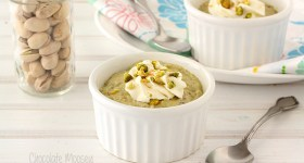 Pistachio Pudding For Two (From Scratch) #SundaySupper