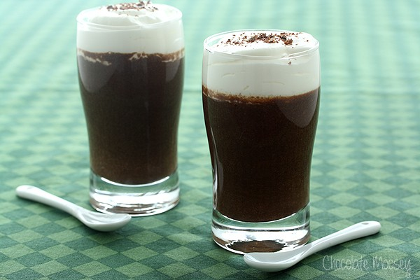 Chocolate Guinness Mousse Cups