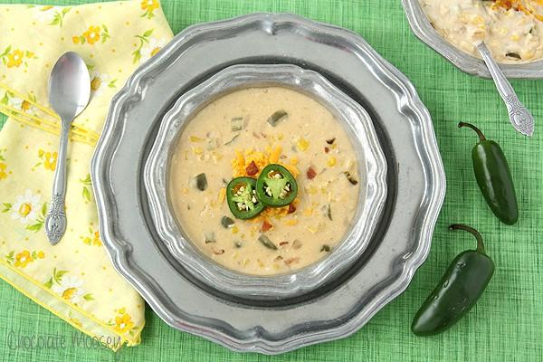 Jalapeno Popper Corn Chowder