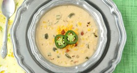Jalapeno Popper Corn Chowder