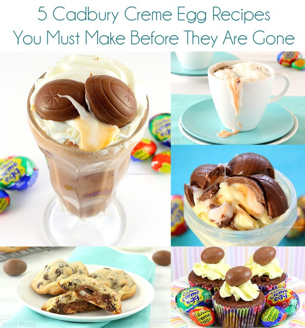 5 Cadbury Creme Egg Recipes You Must Make Before They Are Gone