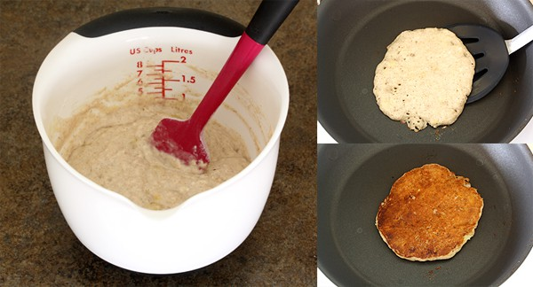 Banana Coconut Milk Pancakes (Dairy Free) with OXO Tools