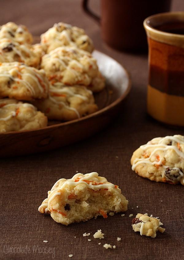 Carrot Cake Drop Cookies
