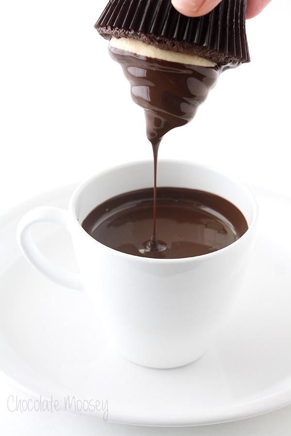 Chocolate Caramel Hi Hat Cupcakes