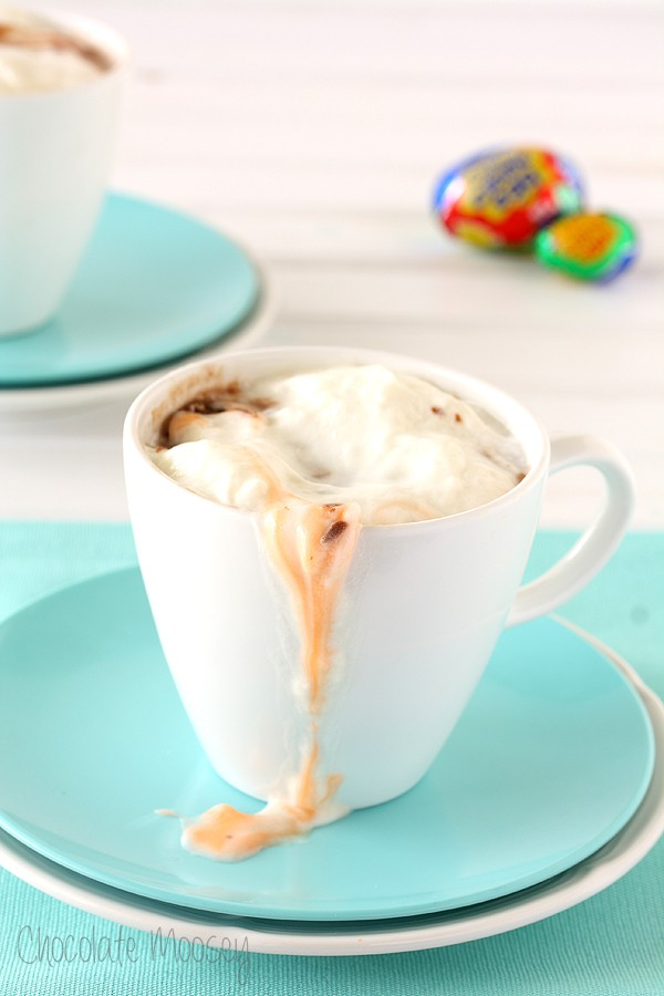 Creme Egg Hot Chocolate