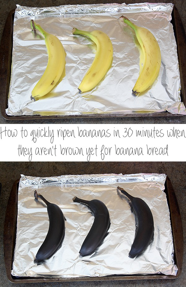 How To Quickly Ripen Bananas In 30 Minutes