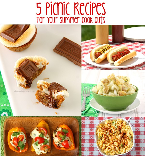 5 Picnic Recipes For Your Summer Cook Outs