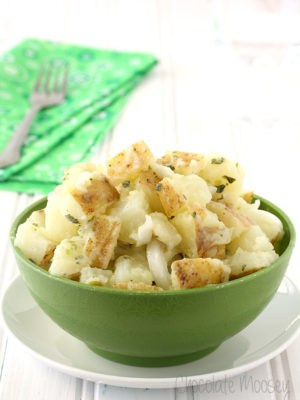 Italian Potato Salad (Vegan, Small Batch)