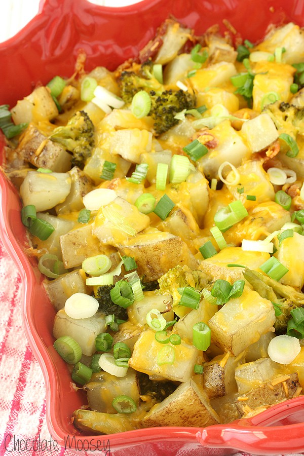 An easy and crowd-pleasing Loaded Baked Potato Casserole for dinner