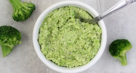 Easy Broccoli Pesto to use for pizza and pasta