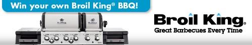 #BurgerWeek and Broil King giveaway