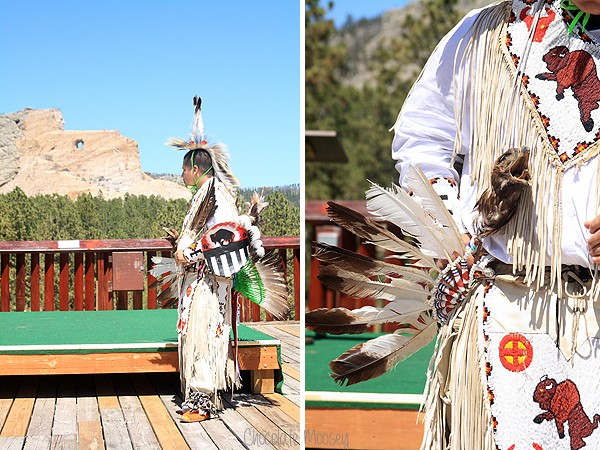 American Indian at Crazy Horse Memorial