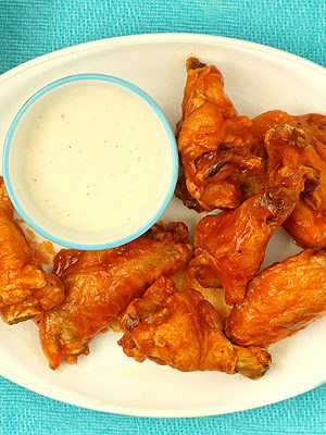 Small Batch Buffalo Baked Chicken Wings