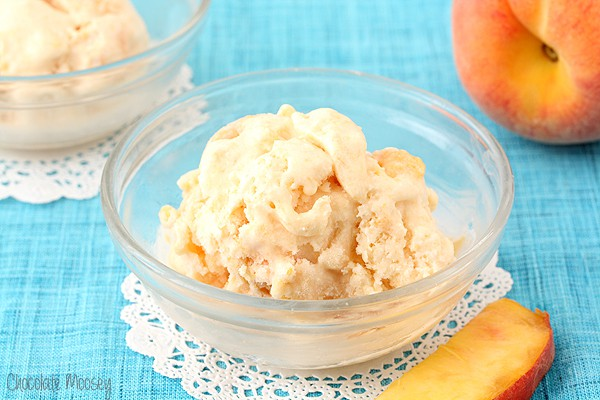 Peaches And Cream Ice Cream that is no cook and egg free