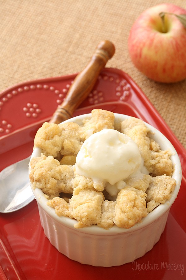 Apple Pie For Two With Buttermilk Ice Cream