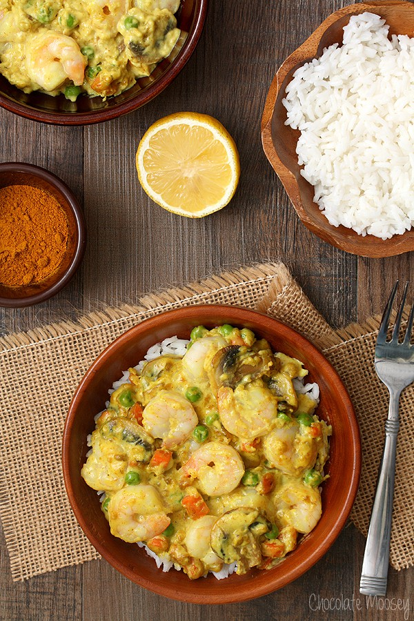 Shrimp Curry In A Hurry that can ready in 30 minutes or less