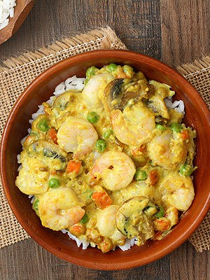 Shrimp Curry For Two